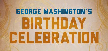George Washington's Birthday Greetings Card Picture