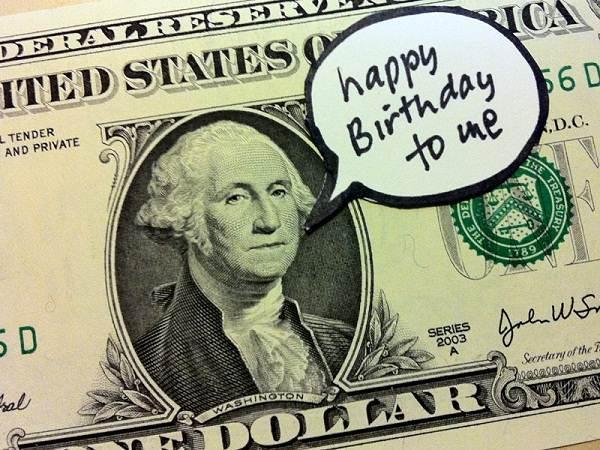 Happy Birthday To Me George Washington Birthday Wishes Image