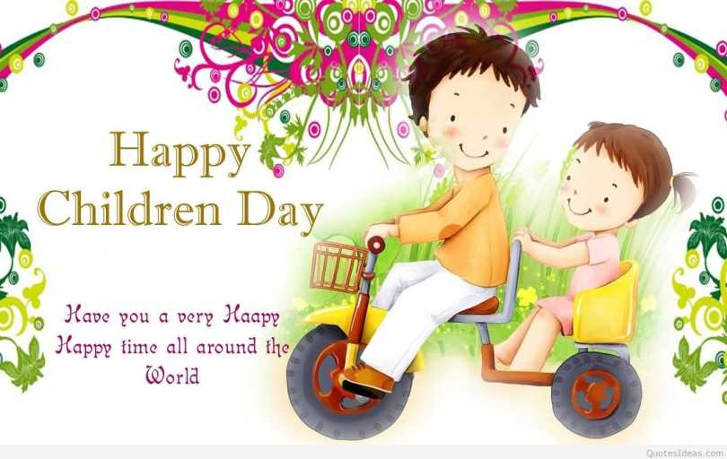Happy Children Day Hope You A Very Happy Time All Around The World Happy Children's Day