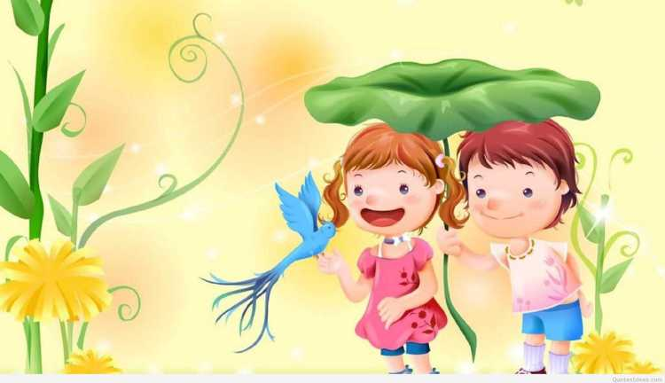 Happy Children's Day Cute Image