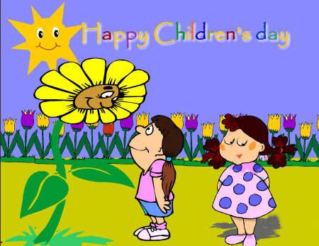 Happy Children's Day Enjoy Your Special Day