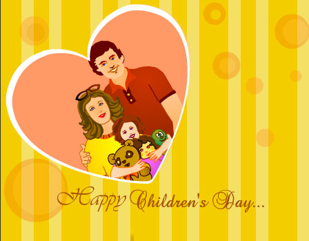 Happy Children's Day Wishes To Everyone Image