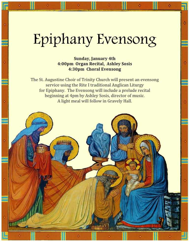 Happy Epiphany Evensong Wishes Image