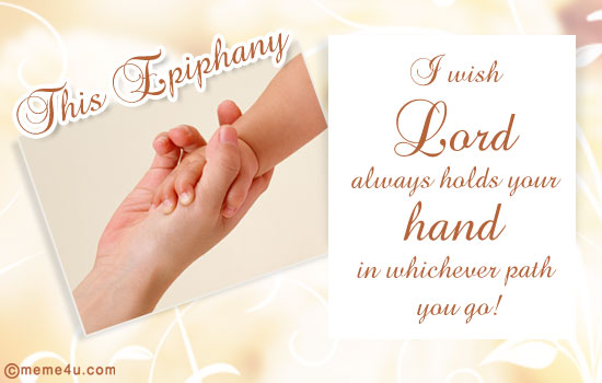 Happy Epiphany Message Greetings Image
