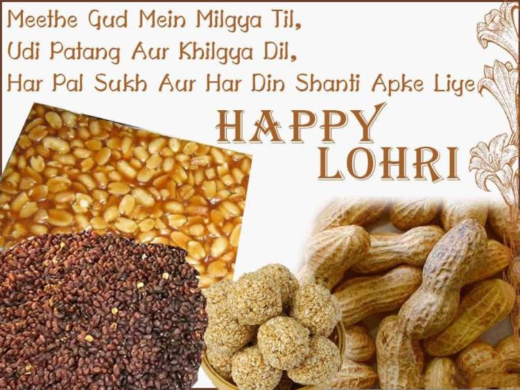 Happy Lohri Greetings Message Picture