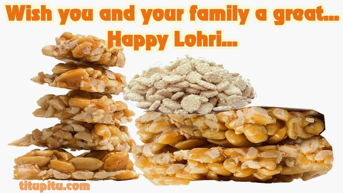 Happy Lohri Sweets For You Wishes Image