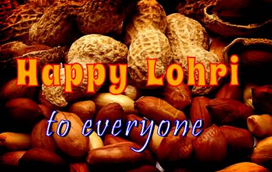 Happy Lohri To Everyone Wishes Message Image