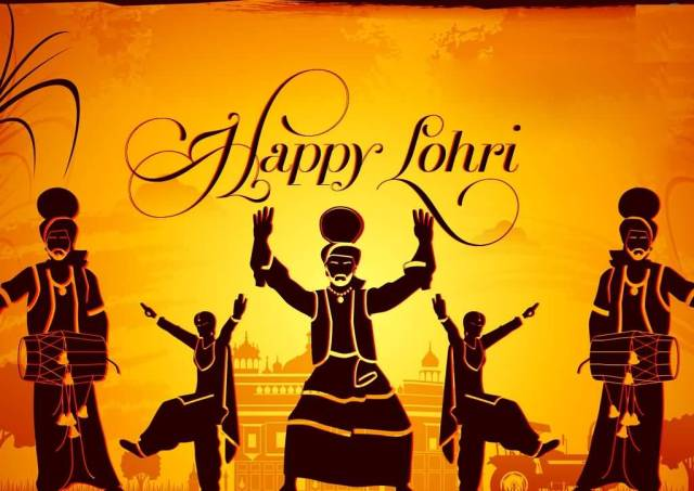 Happy Lohri To You Best Wishes Image