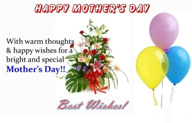 Happy Mother's Day Special Greetings Image