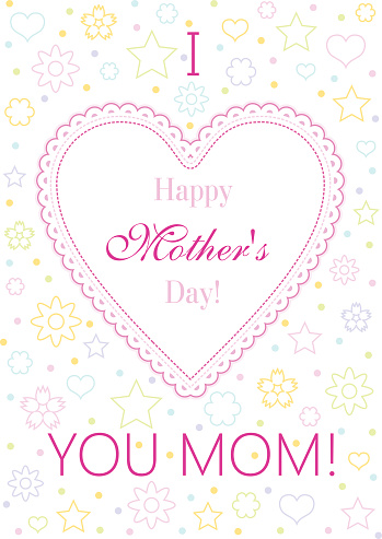 Happy Mother's Day Wishes Card Image