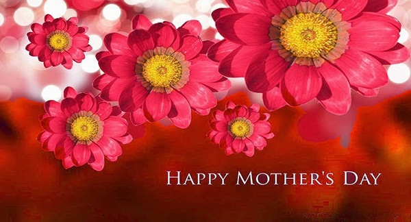 Happy Mother's Day Wishes Flower Image