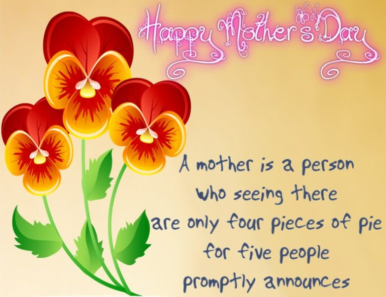 Happy Mother's Day Wishes Message & Saying Image