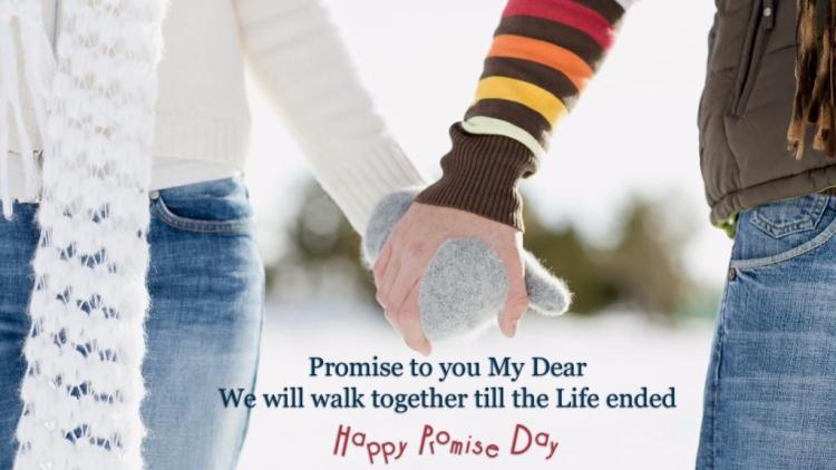 Happy Promise Day Wishes Wallpaper