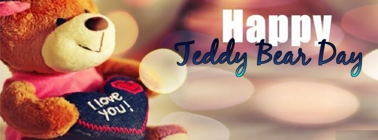 Happy Teddy Bear Day Cover Wishes Image