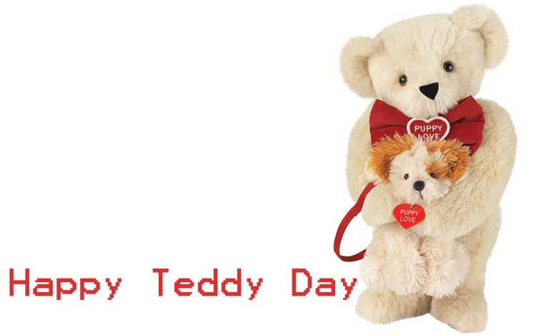 Happy Teddy Day To My Lovely Friend Image