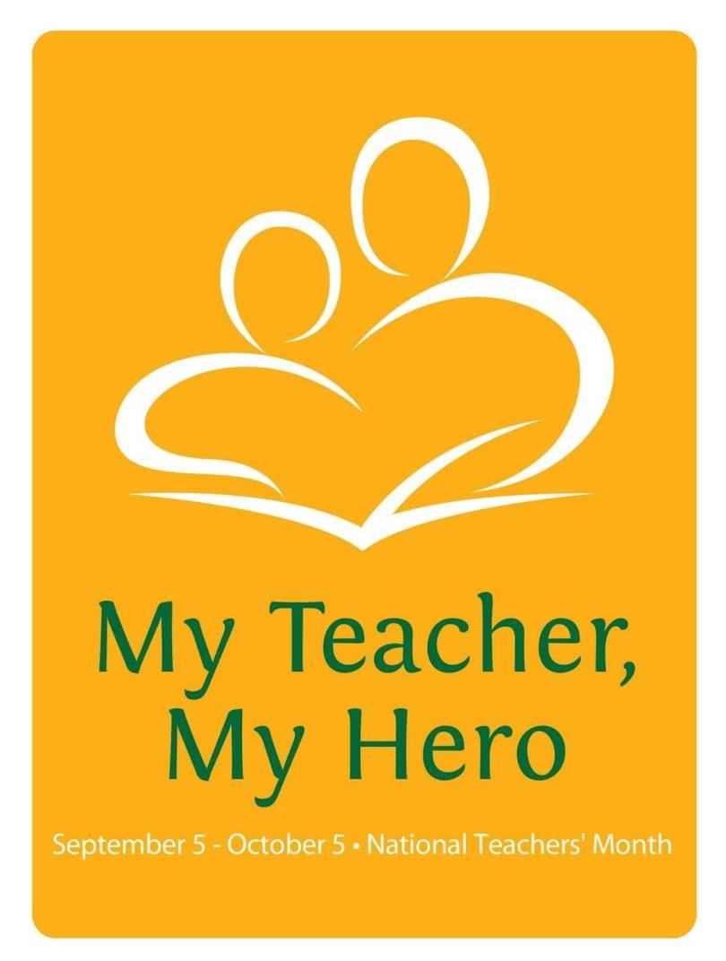 Happy World Teacher's Day My Hero Wishes Image