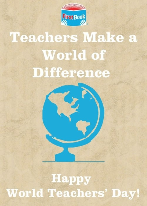 Happy World Teacher's Day Wishes Quotes Image