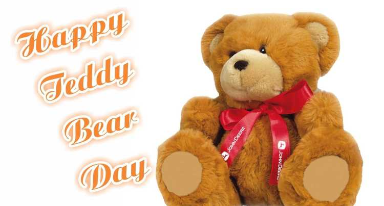Happy Teddy Day Bear Day Greetings Image