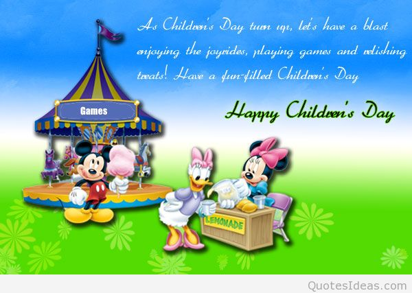 Have A Fun Filled Childrens Day Wishes Image