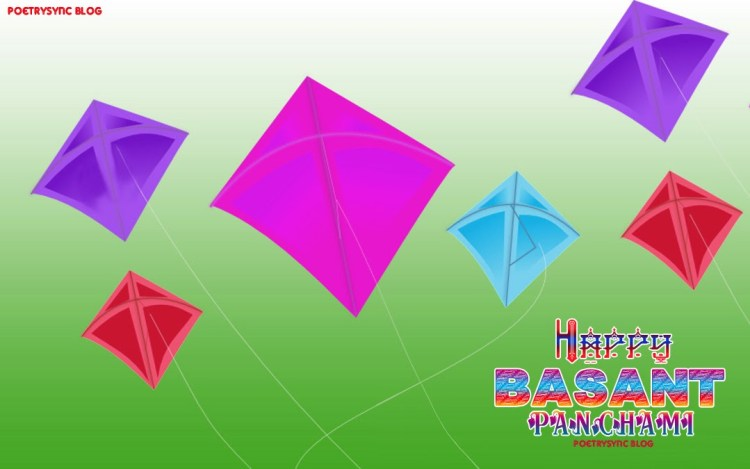 Have A Wonderful Basant Panchami Greetings Kites Image