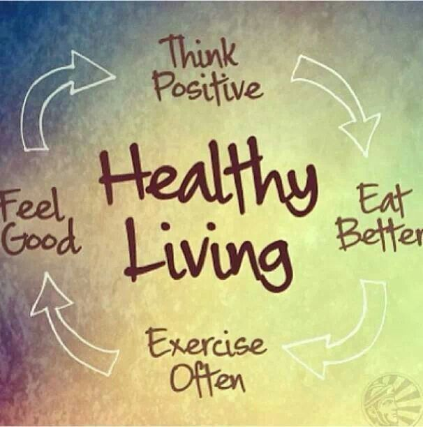 Health Quotes think eat better exercise often feel good healthy living