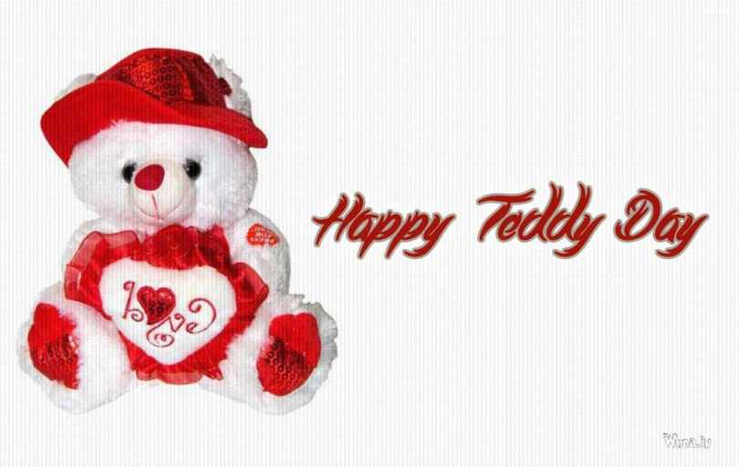 I Love You Happy Teddy Day Greetings Image