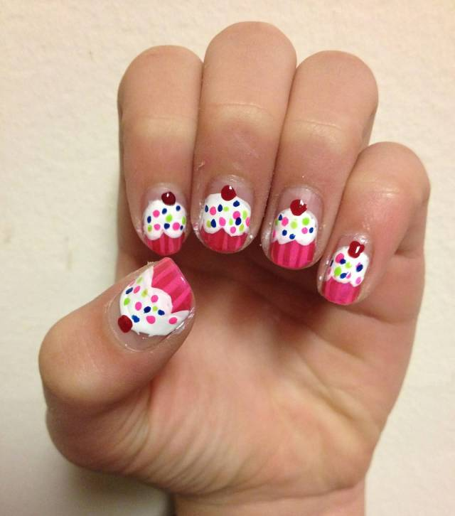 Incredible Ice Cream Nails Accent Nail Art