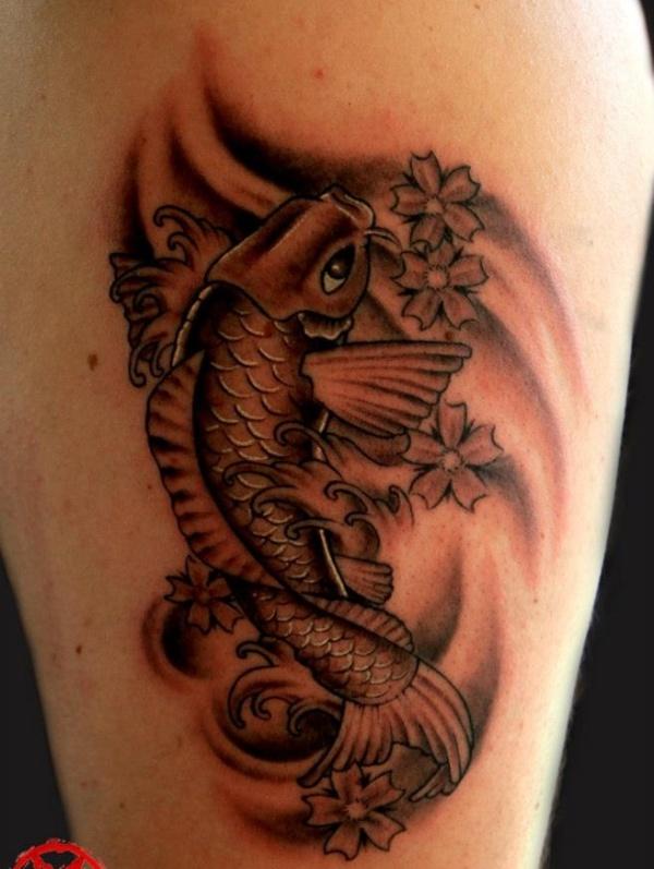 Innovative Koi Fish Tattoo For Women For Girls
