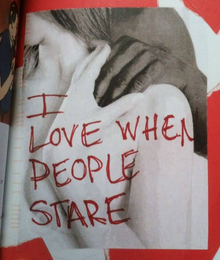 Interracial Love Quotes I love when people stare
