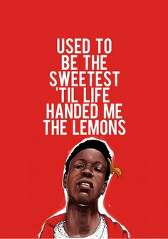 Joey Badass Quotes Used to be the sweetest til life handed me the lemons (2)