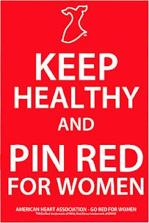 Keep Healthy National Wear Red Day