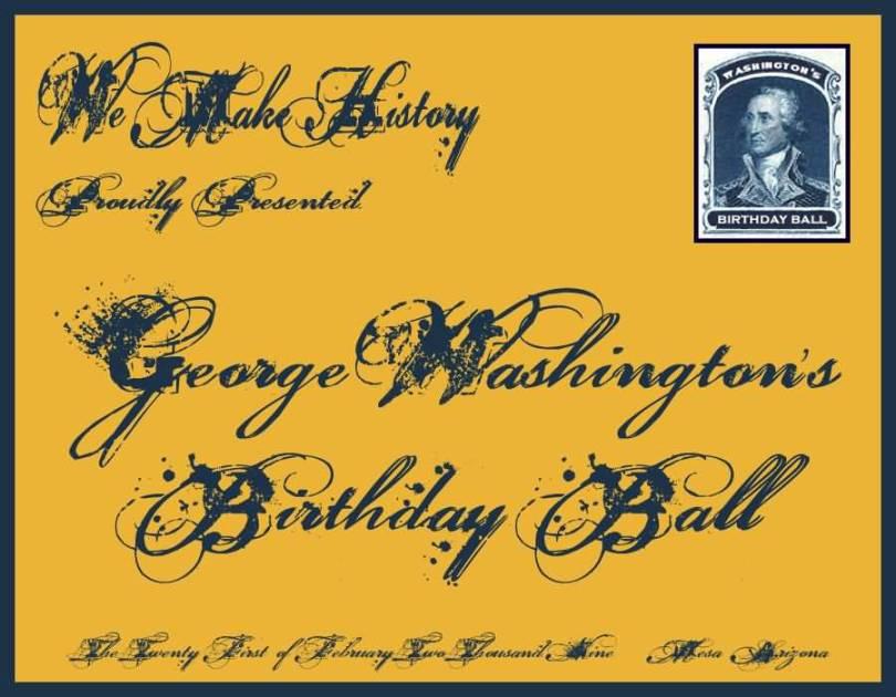 Let's Celebrate Washington Birthday Wishes Image