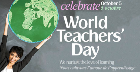 Let's Celebrate World Teacher's Day Wishes Image