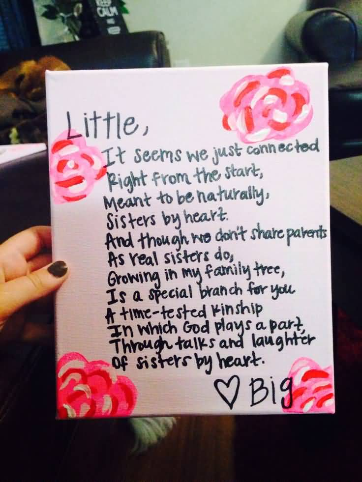 Little Big Quotes Little it seems we just connected right from the start