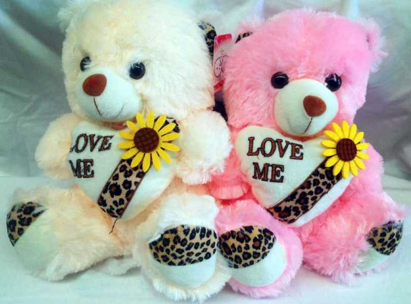 Love Me Happy Teddy Day Wishes Wallpaper
