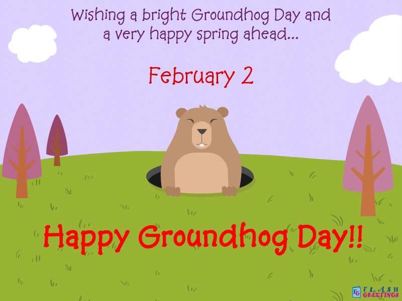 Lovely Groundhog Day Wishes