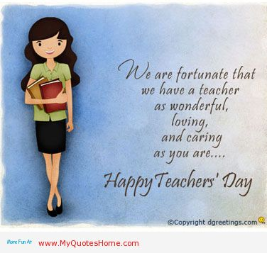 Loving Caring As You Are Happy Teacher's Day Ma'am Wishes Image