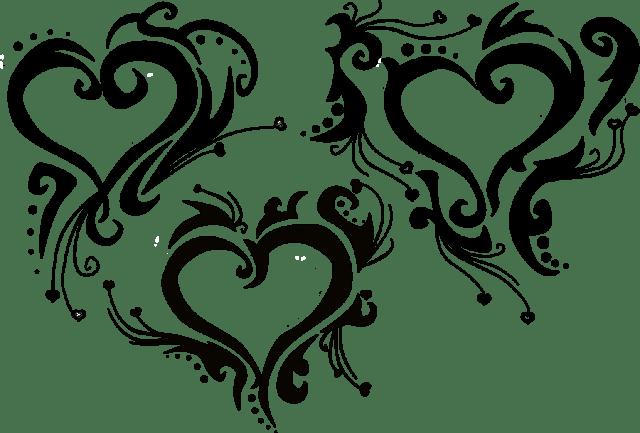 Marvel Tribal Heart Tattoo Set For Boys