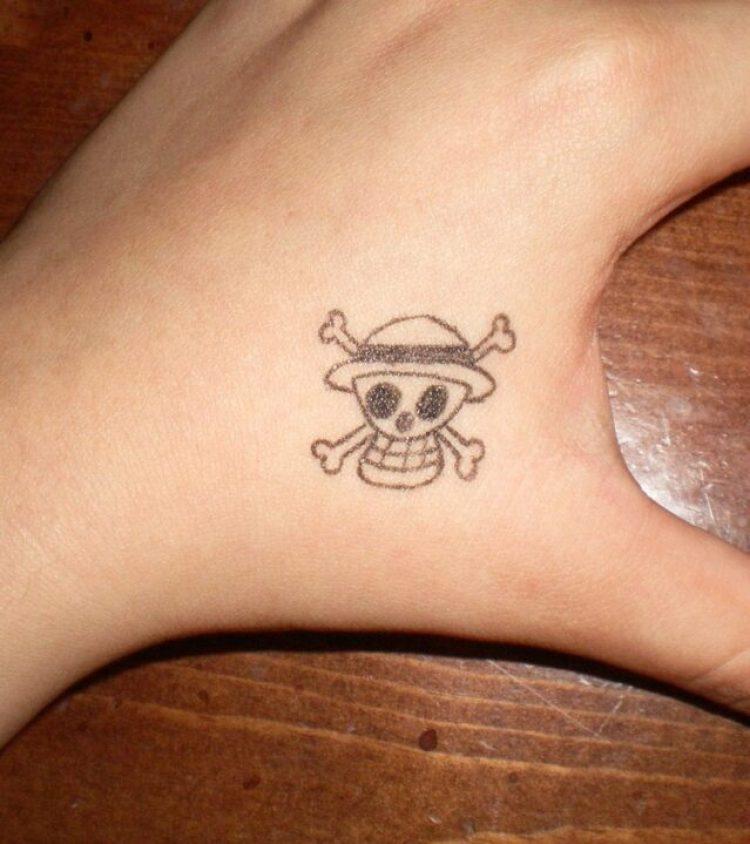 Marvelous Danger Sign Hand Tattoo For Girls