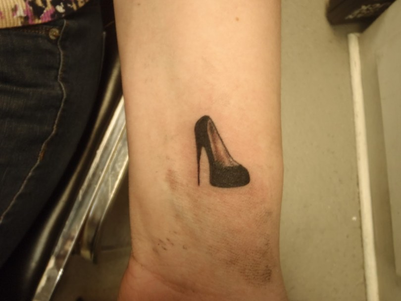 Marvelous Heel Tattoo Design For Girls