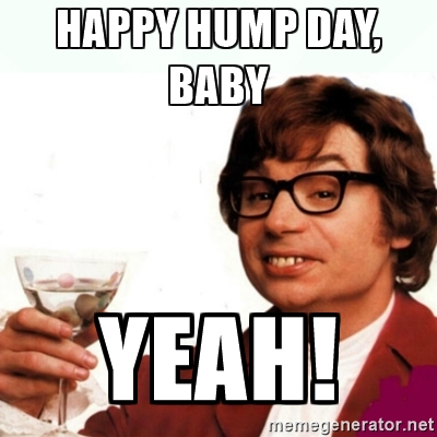 Meme Happy Hump Day Baby Yeah Image
