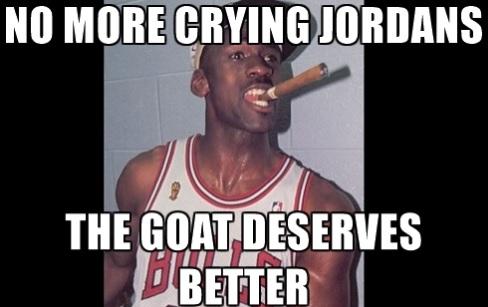 Meme No More Crying Jordan's The Goat Deserves Better Photo
