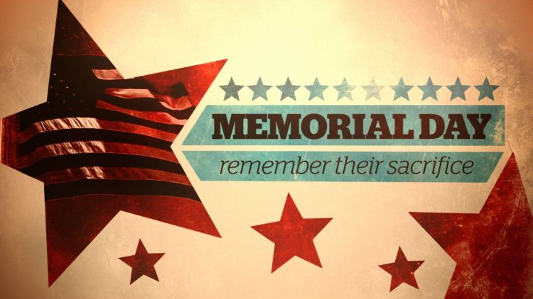 Memorial Day Remember Their Sacrifice Image