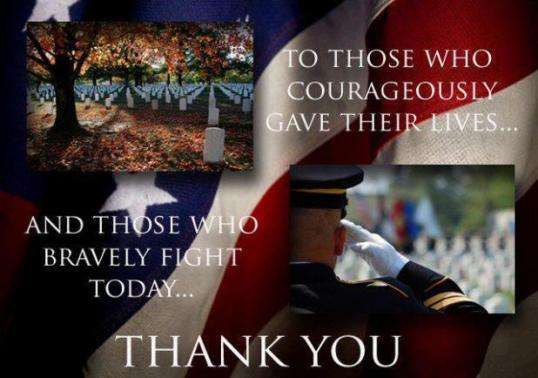 Memorial Day Thank You Message Image