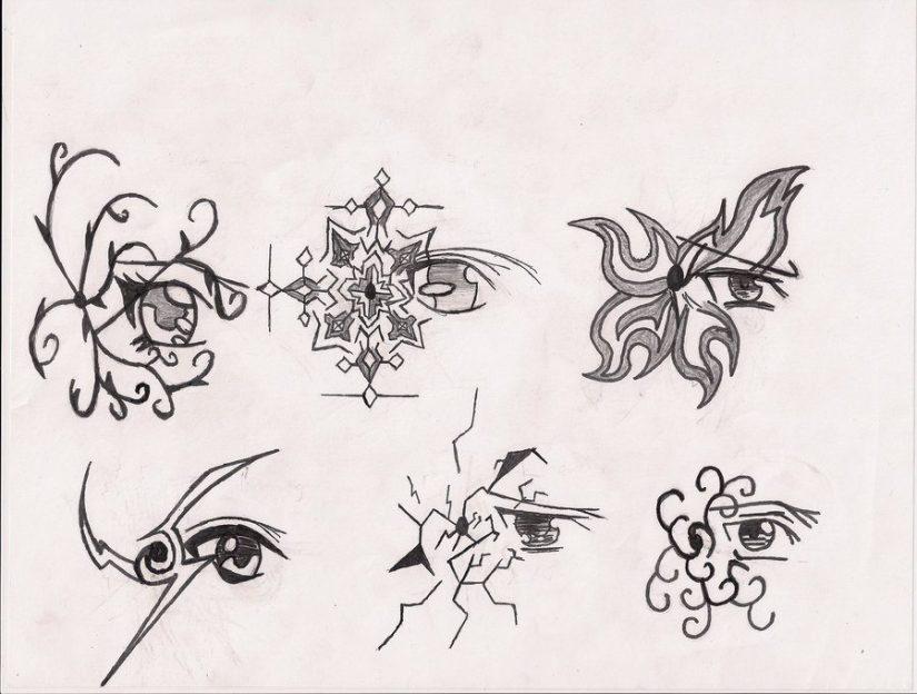 Mind Blowing Few Eye Tattoo Designs For Girls