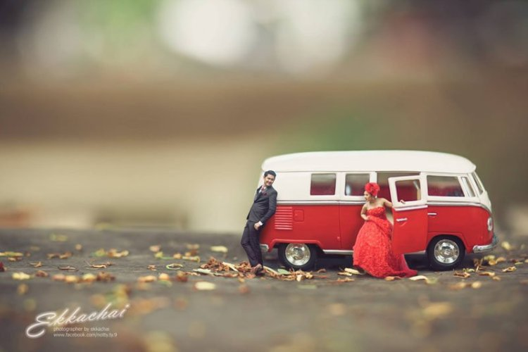 Miniature Wedding Photography 006