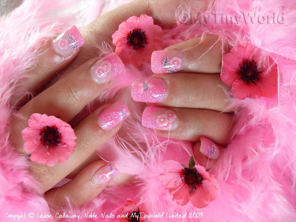 Most Ultimate Pink Acrylic Nail Design