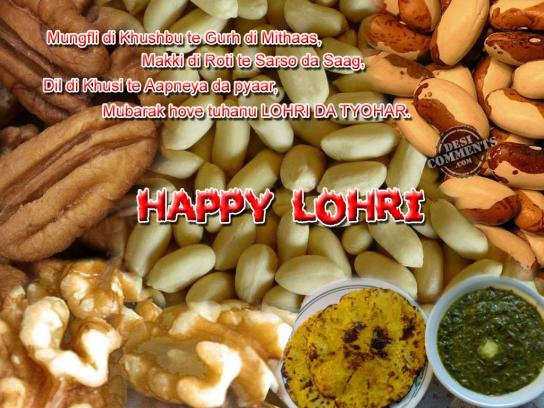 Mungfli Di Khushbu Te Gurh Happy Lohri Have A Great Day