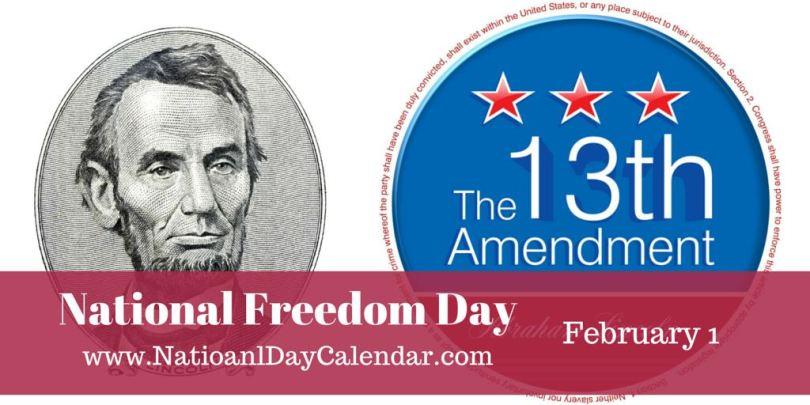 National Freedom Day February 1