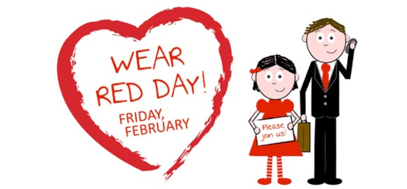 National Wear Red Day Greetings Images